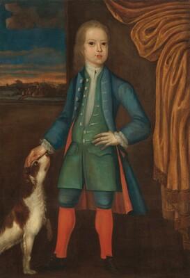 Boy in Blue Coat