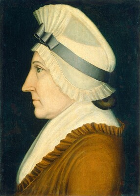 Lady in a White Mob Cap