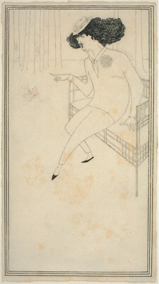 Caricature of J.M. Whistler