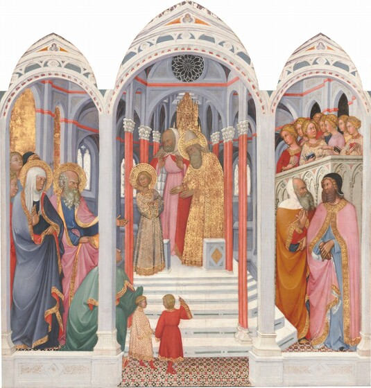 The Presentation of the Virgin in the Temple