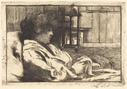 Woman Reading in the Atelier (La lecture dans l'atelier)