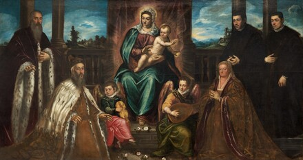 Doge Alvise Mocenigo and Family before the Madonna and Child