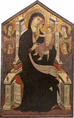 Maesta (Madonna and Child with Four Angels)