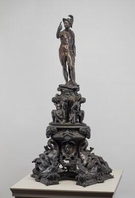 Andiron with Figure of Mars