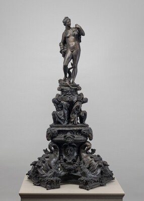 Andiron with Figure of Venus