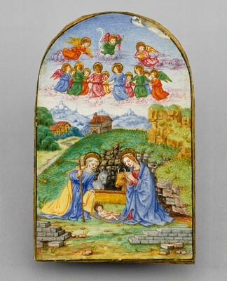 Pax with a Miniature of the Nativity