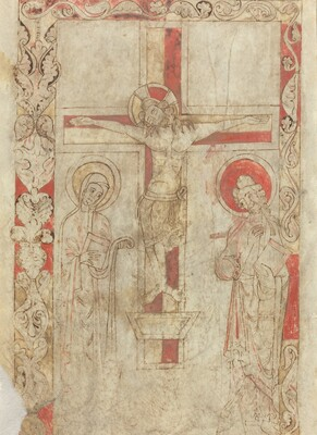 The Crucifixion [verso]