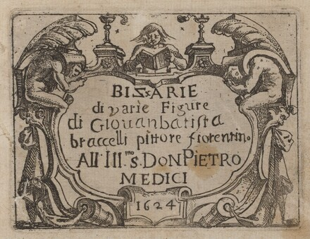 Title Page for Bizzarie di varie Figure