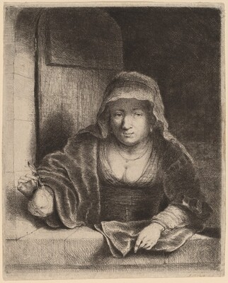 The Woman with the Pear