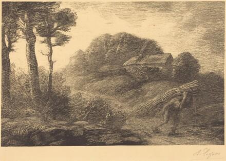 Return of the Fagot-gatherer, 2nd plate (Le retour du fagotier)