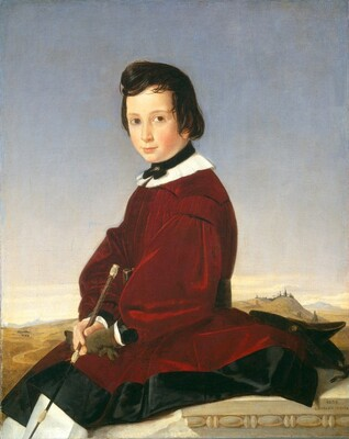 Portrait of a Young Horsewoman