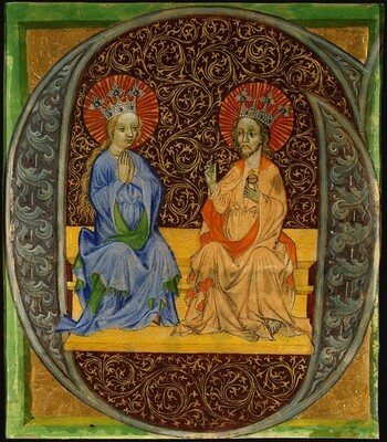 Christ and the Virgin Enthroned