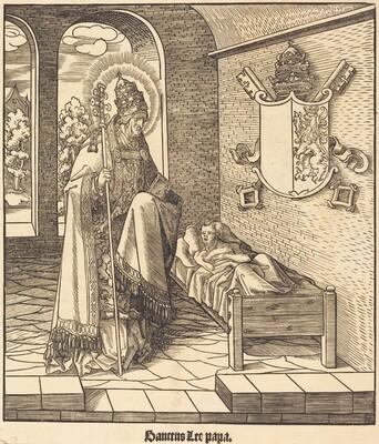 Saint Leo (Pope Leo IX)