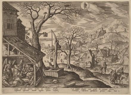 The Nativity and the Flight into Egypt (Aquarius)