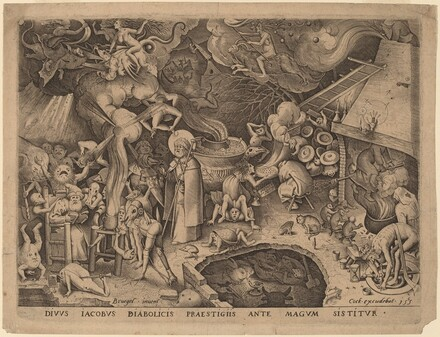 Saint James and the Magician Hermogenes