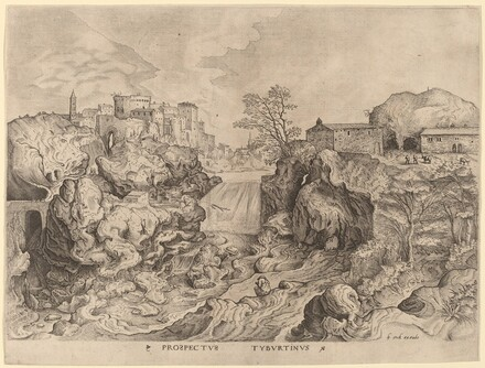 Prospectus Tyburtinus (View of the Tiber)