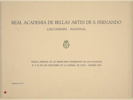 La Tauromaquia (The Bullfight)
