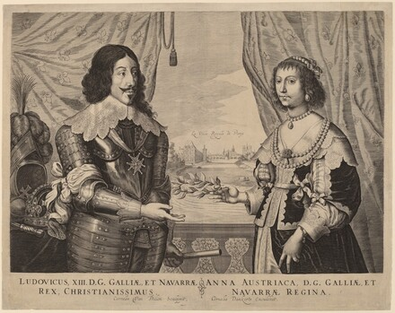 King Louis XIII of France and Anne of Austria