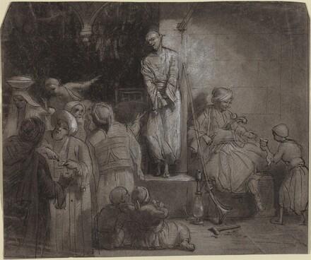 The Slave Market [recto]