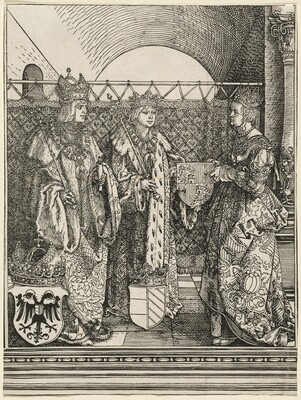 The Betrothal of Philip the Fair with Joan of Castile