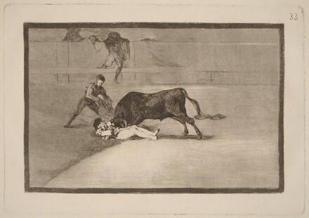 La desgraciada muerte de Pepe Illo en la plaza de Madrid (The Unlucky Death of Pepe Illo in the Ring at Madrid)