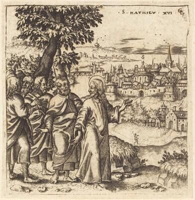 Christ Admonishes His Disciples