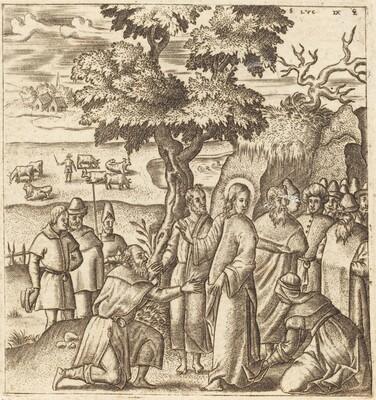Christ Heals a Sick Woman