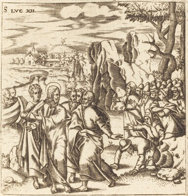 Christ Teaching the Multitude