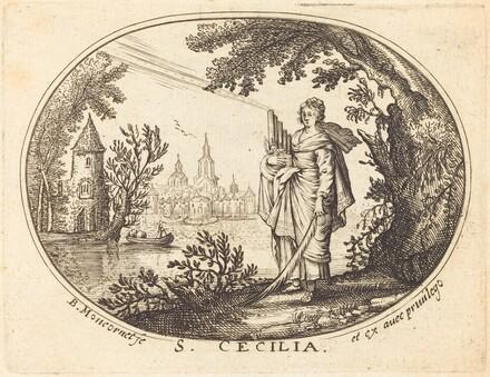 Saint Cecilia in a Landscape