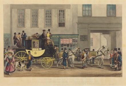 The Blenheim, Leaving the Star Hotel, Oxford