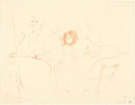 Woman with a Tray (Femme au plateau)