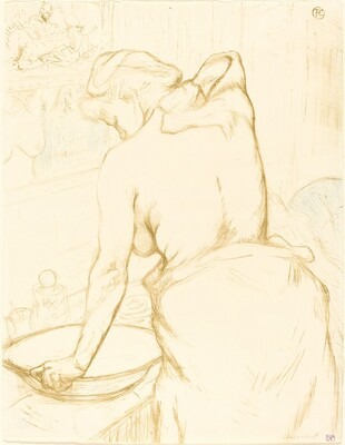Woman Washing Herself (Femme qui se lave)