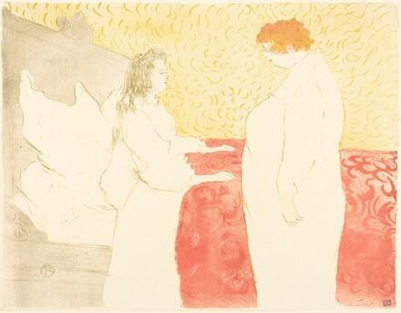 Woman in Bed, Profile (Femme au lit, profil)