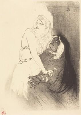 At the Renaissance: Sarah Bernhardt in Phedre (A la Renaissance: Sarah Bernhardt dans Phèdre)