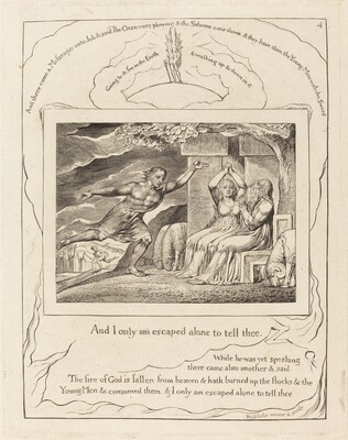 The Messengers Tell Job of His Misfortunes