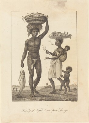 Family of Negro Slaves from Loango