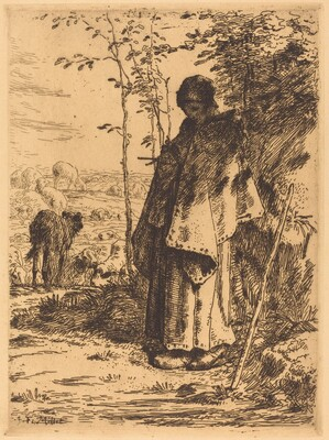 The Large Shepherdess (La grande bergere)