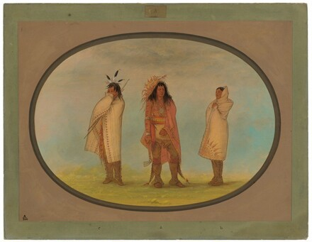 Three Iroquois Indians