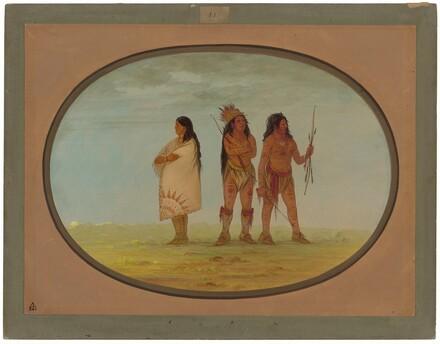 Three Navaho Indians