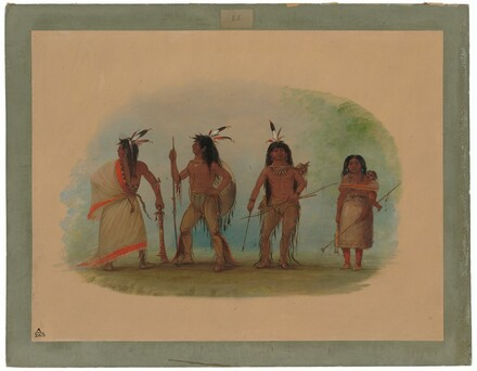 Four Apachee Indians