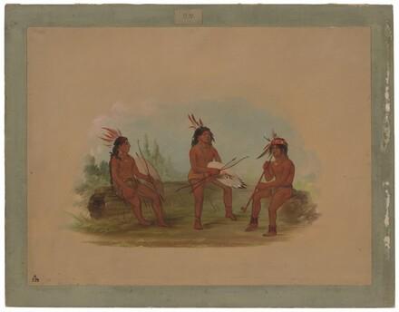 Three Young Chinook Men