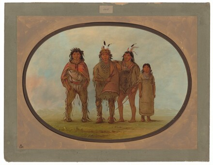Four Dogrib Indians
