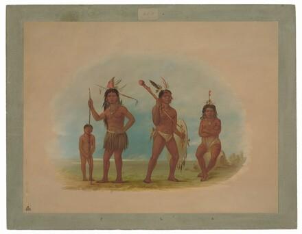 Four Arowak Indians