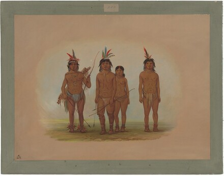 Four Macouchi Indians