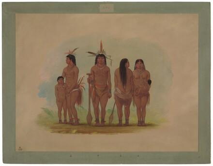 Members of the Payaguas Tribe