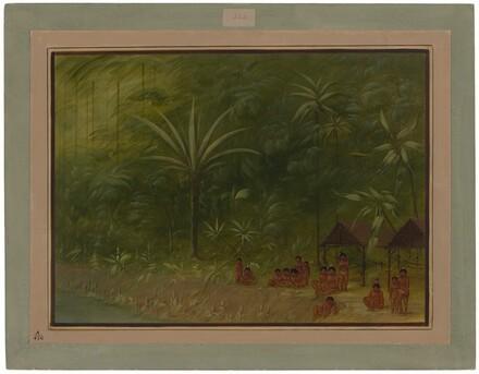 Encampment of Cocomas - Looking Ashore