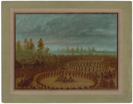 War Dance of the Apachees