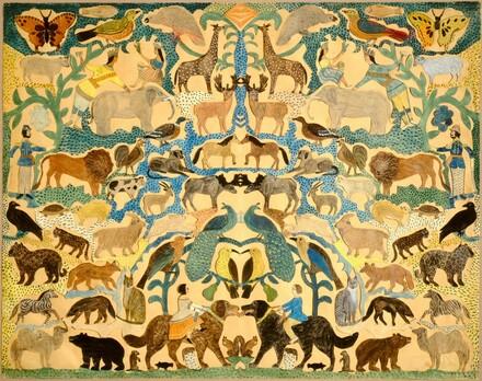 Cutout of Animals