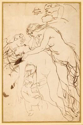 Venus Lamenting Adonis