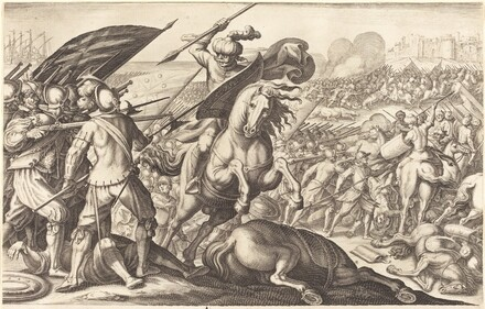 The Defeat of the Turkish Cavalry